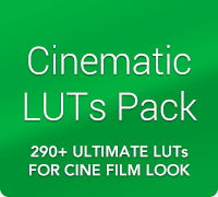 Cinematic LUTs Color Grading Pack by IWLTBAP
